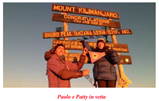 paolo e patty in cima
